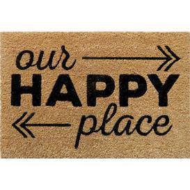 image-Gunnar Happy Place Doormat Brayden Studio
