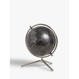 image-John Lewis & Partners World Globe on Metal Stand, Black