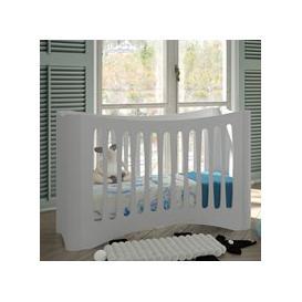 image-Mathy by Bols Fusion Adjustable Baby Cot - Mathy Powder Blue