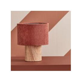image-Kids Concept Corduroy Table Lamp - Rust