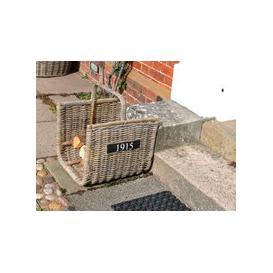 image-Kubu Half Round Log Basket