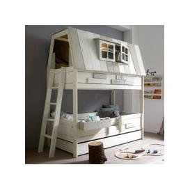 image-Lifetime Adventure Hangout Kids Bunk Bed - Lifetime Whitewash