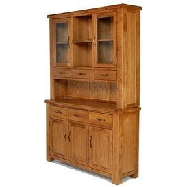 image-Saltaire Oak Furniture Large Dresser