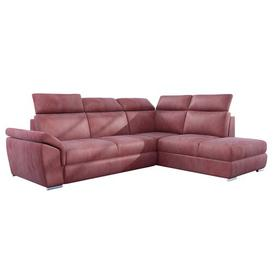 image-Kaoci Sleeper Corner Sofa Bed Selsey Living Upholstery Colour: Salmon Pink, Orientation: Right Hand Facing