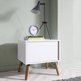 image-Otto Bedside Tablein Classic White