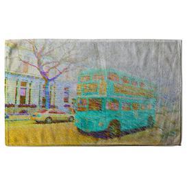 image-Rosiclare Quick Dry Bath Towel Single Piece Ebern Designs Colour: Green/Yellow
