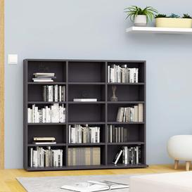 image-CD Multimedia Cabinet Mercury Row Colour: Grey