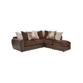 image-Marrakesh Right Hand Single Arm Scatter Back Corner Group Sofa + Footstool