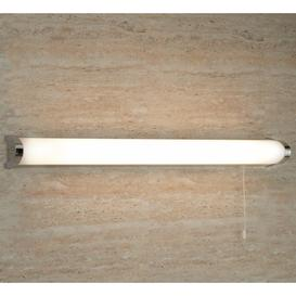 image-Searchlight 5372CC IP44 Chrome Switched Bathroom Wall Light