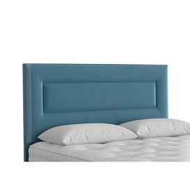 image-Vispring - Enyo Floor Standing Headboard - Double - Blue