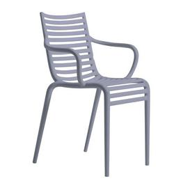 image-Pip-e Stackable armchair - Plastic by Driade Blue