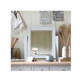 image-Chester Dove Grey Dressing Table Mirror