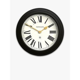 image-Newgate Clocks Chocolate Shop Roman Numeral Analogue Wall Clock, 50cm