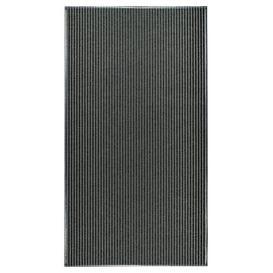 image-Hobner Black Indoor/Outdoor Area Rug Beachcrest Home Rug Size: Rectangle 200 x 300cm