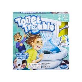 image-Toilet Trouble Flush Kids Board Game