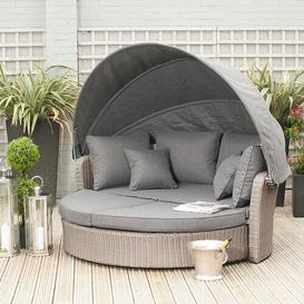 image-Higginbotham Garden Daybed with Cushions Dakota Fields