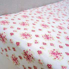 image-Katy Rabbit Pink 25cm Fitted Sheet Pink