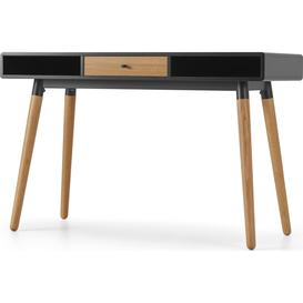 image-Edelweiss Desk, Oak and Black