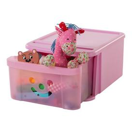image-Smiley Toy Box IRIS Finish: Pink