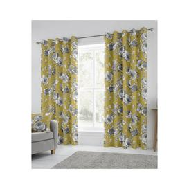 image-Charity Lined Eyelet Curtains