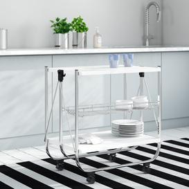 image-Kitchen Trolley IRIS Base Finish: White