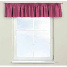 image-Loneta Curtain Pelmet Dekoria Size: 390cm W x 40cm L, Colour: Pink