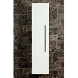 image-HS 35 x 150cm Wall Mounted Cabinet Belfry Bathroom Finish: White High Gloss