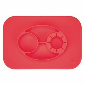 image-Oval Mat InterDesign Colour: Red