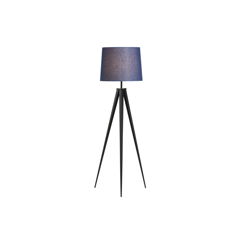 image-Eiffel Tripod Floor Lamp, Blue