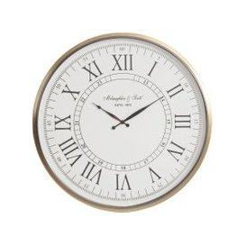 image-Libra Lexington Brass Wall Clock