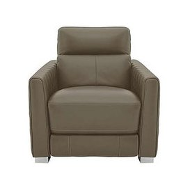 image-Vesper Leather Power Armchair with Power Headrest