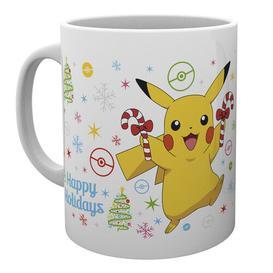 image-Rawtenstall Xmas Pikachu Mug Happy Larry