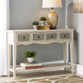 image-Lula 4 Drawer Console Table August Grove