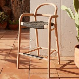 image-Northey 69cm Bar Stool (Set of 2) Sol 72 Outdoor Colour: Green