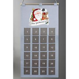 image-Personalised Santa Advent Calendar