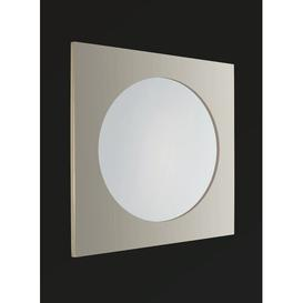 image-Sula Round Frame Mirror Belfry Bathroom Finish: Polished