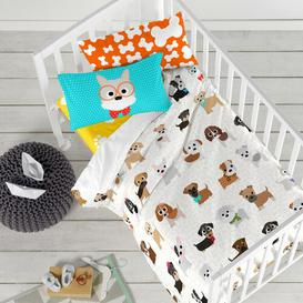 image-Whitten Fitted Cot Sheet Isabelle & Max