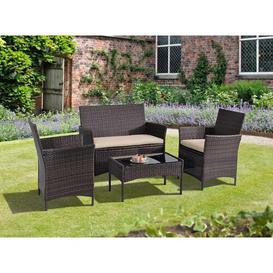 image-Lamorteau 4 Seater Rattan Sofa Set Sol 72 Outdoor