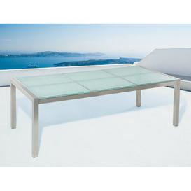 image-Anabriana Steel Dining Table Sol 72 Outdoor