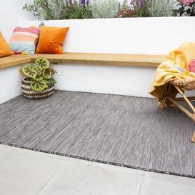 image-Graphite Mottled Indoor  Outdoor Rug - Patio