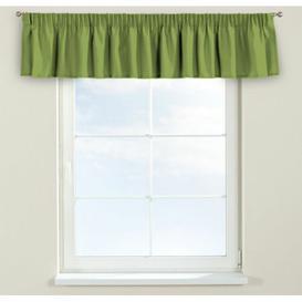 image-Panama Curtain Pelmet Dekoria Size: 260cm W x 40cm L, Colour: Green