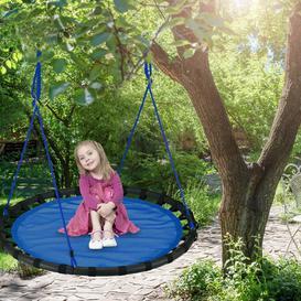 image-Jaren Swing Seat Freeport Park Colour: Blue