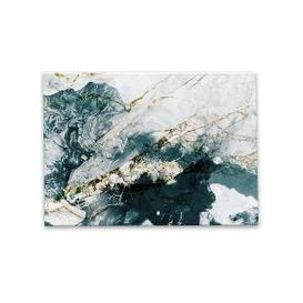 image-Marble 2 Glass Wall Art