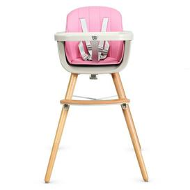 image-Sharp Baby High Chair Isabelle & Max Colour: Pink