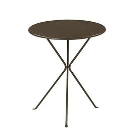 image-Bernie Bar Height Table Symple Stuff Finish: Brown