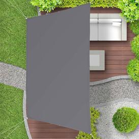 image-Edelen 4m x 2m Shade Sail Sol 72 Outdoor Colour: Grey