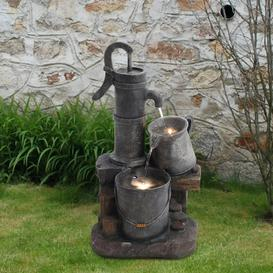 image-Jenni Resin Fountain with Light