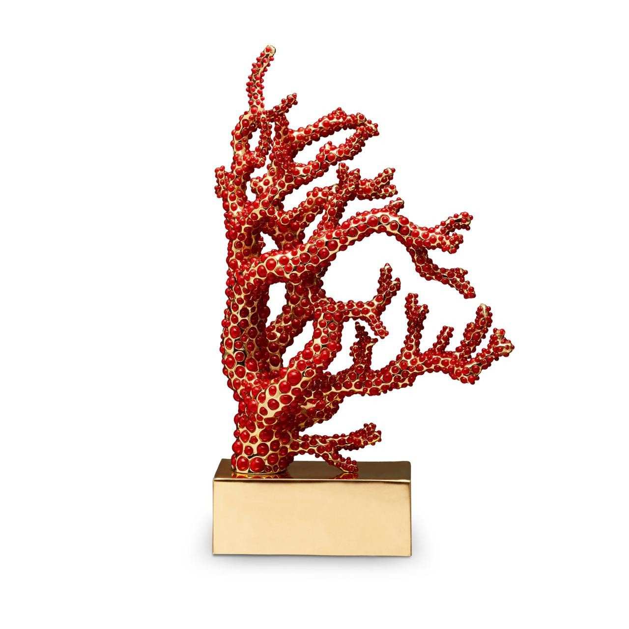 image-Coral Bookend Coral Book End Right