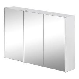 image-Bathroom Triple 68cm x 45cm Surface Mount Mirror Cabinet Symple Stuff