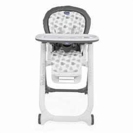 image-Polly Progress High Chair Chicco Finish: Grey